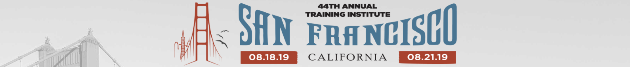 APPA Probabation and Parole Association San Francisco Annual Conference 2019 Narrow